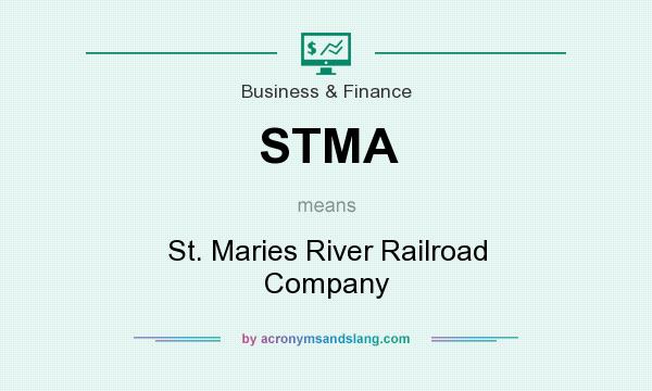 What does STMA mean? It stands for St. Maries River Railroad Company