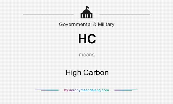 What does HC mean? It stands for High Carbon