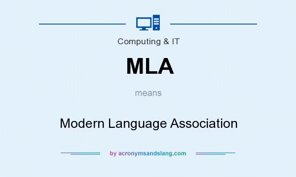 Mla modern language association in governmental military by - What does contemporary mean ...