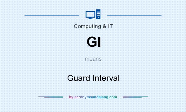 What does GI mean? It stands for Guard Interval