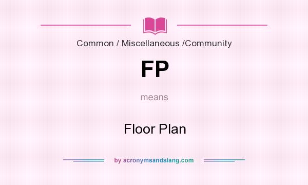 fp floor plan in common miscellaneous community by