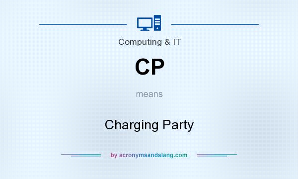 What does CP mean? It stands for Charging Party