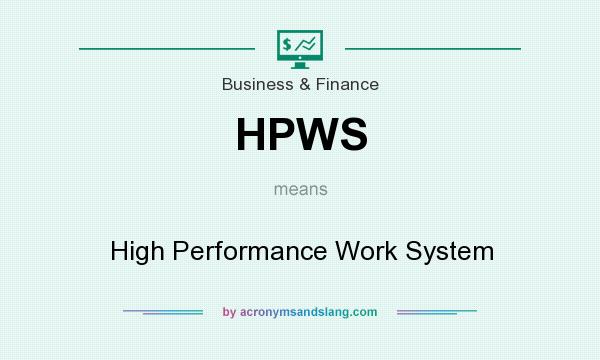 high performance work systems analysis Title: high performance work systems: a causal framework of training, innovation levels of analysis.