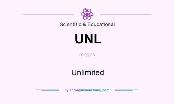 What does UNL mean? It stands for Unlimited