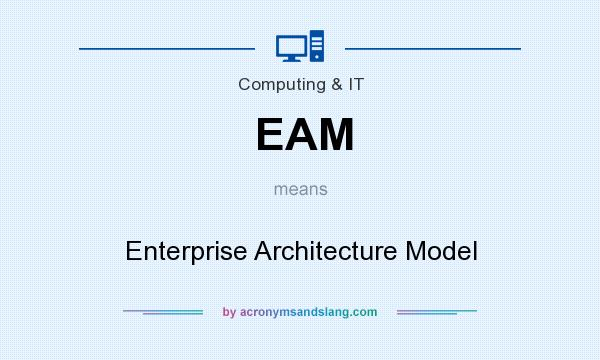 What does EAM mean? It stands for Enterprise Architecture Model