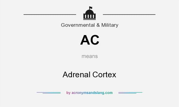 What does AC mean? It stands for Adrenal Cortex
