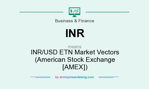 Inr Usd Etn Market Vectors