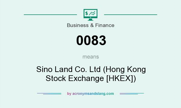 What does 0083 mean? It stands for Sino Land Co. Ltd (Hong Kong Stock Exchange [HKEX])