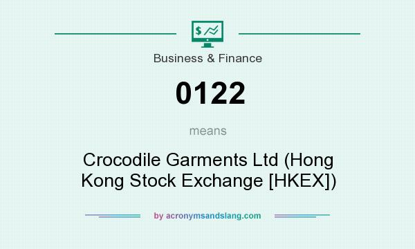 What does 0122 mean? It stands for Crocodile Garments Ltd (Hong Kong Stock Exchange [HKEX])