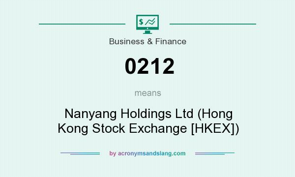 What does 0212 mean? It stands for Nanyang Holdings Ltd (Hong Kong Stock Exchange [HKEX])