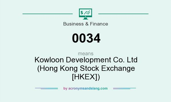 What does 0034 mean? It stands for Kowloon Development Co. Ltd (Hong Kong Stock Exchange [HKEX])