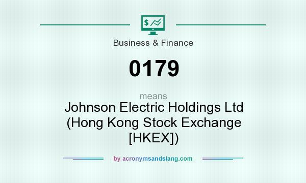 What does 0179 mean? It stands for Johnson Electric Holdings Ltd (Hong Kong Stock Exchange [HKEX])