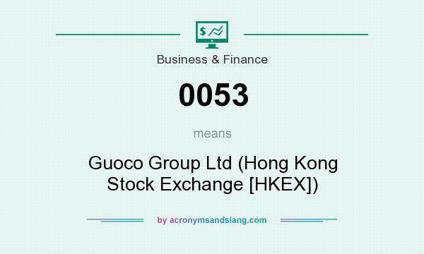 What does 0053 mean? It stands for Guoco Group Ltd (Hong Kong Stock Exchange [HKEX])