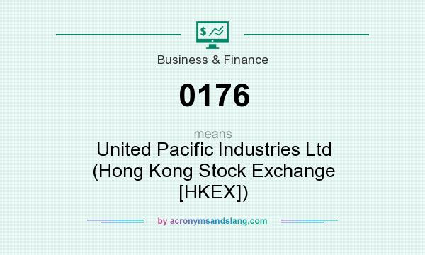 What does 0176 mean? It stands for United Pacific Industries Ltd (Hong Kong Stock Exchange [HKEX])