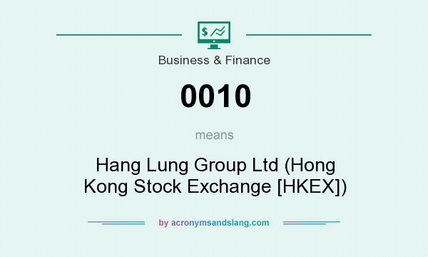What does 0010 mean? It stands for Hang Lung Group Ltd (Hong Kong Stock Exchange [HKEX])