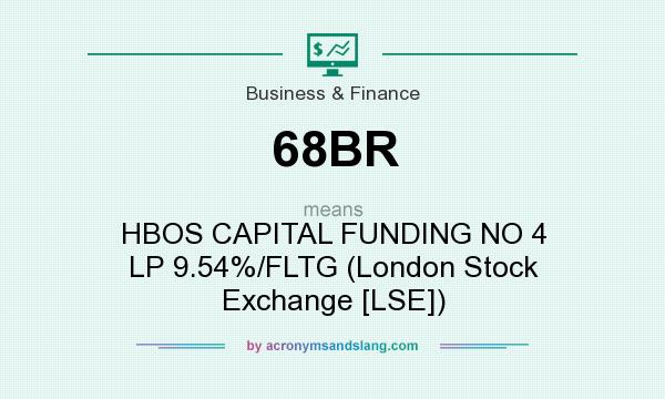 What does 68BR mean? It stands for HBOS CAPITAL FUNDING NO 4 LP 9.54%/FLTG (London Stock Exchange [LSE])