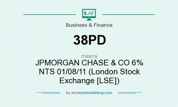 What does 38PD mean? It stands for JPMORGAN CHASE & CO 6% NTS 01/08/11 (London Stock Exchange [LSE])