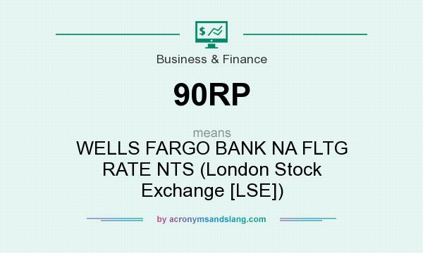 What does 90RP mean? It stands for WELLS FARGO BANK NA FLTG RATE NTS (London Stock Exchange [LSE])