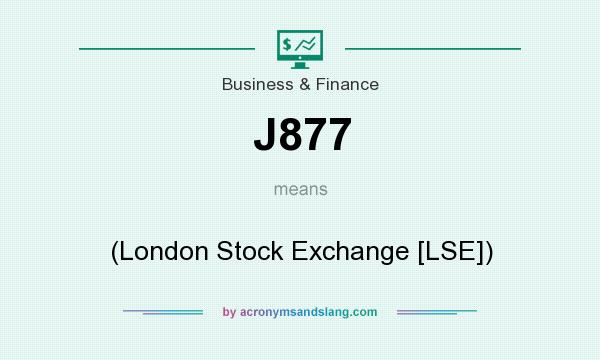 What does J877 mean? It stands for (London Stock Exchange [LSE])