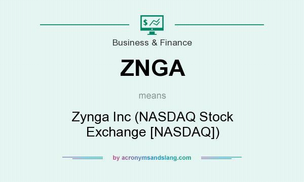What does ZNGA mean? It stands for Zynga Inc (NASDAQ Stock Exchange [NASDAQ])