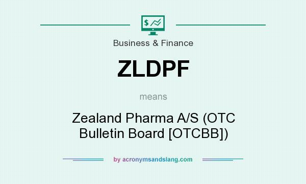 What does ZLDPF mean? It stands for Zealand Pharma A/S (OTC Bulletin Board [OTCBB])