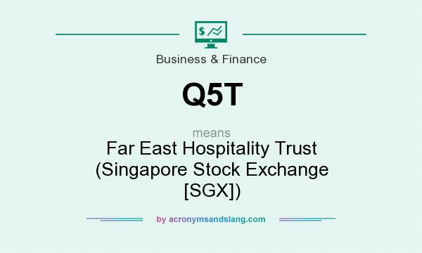 What does Q5T mean? It stands for Far East Hospitality Trust (Singapore Stock Exchange [SGX])