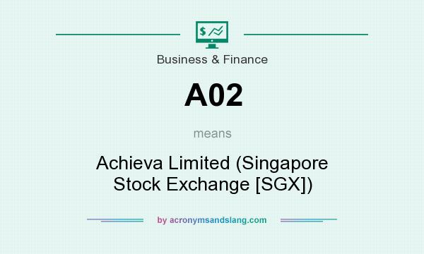What does A02 mean? It stands for Achieva Limited (Singapore Stock Exchange [SGX])