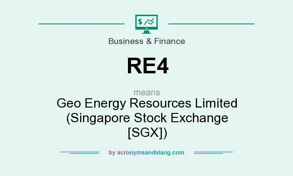 Re4 geo energy resources limited singapore stock exchange sgx re4 geo energy resources limited singapore stock exchange sgx in business finance by acronymsandslang sciox Image collections