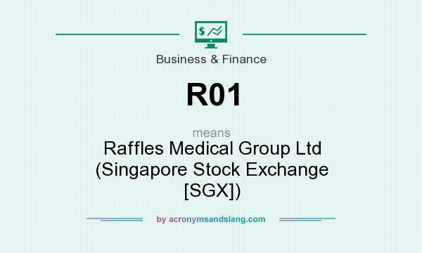What does R01 mean? It stands for Raffles Medical Group Ltd (Singapore Stock Exchange [SGX])