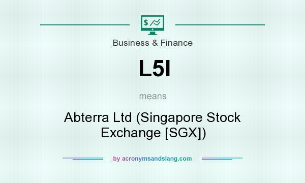 What does L5I mean? It stands for Abterra Ltd (Singapore Stock Exchange [SGX])