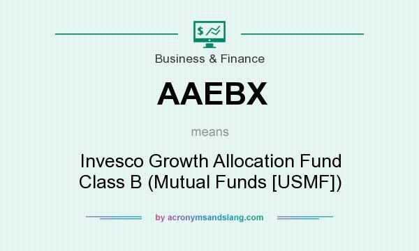 What does AAEBX mean? It stands for Invesco Growth Allocation Fund Class B (Mutual Funds [USMF])