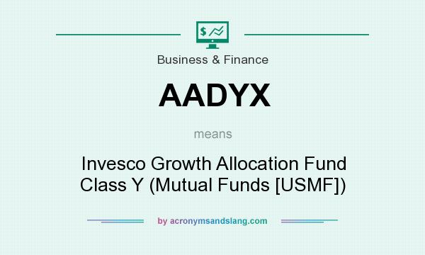 What does AADYX mean? It stands for Invesco Growth Allocation Fund Class Y (Mutual Funds [USMF])