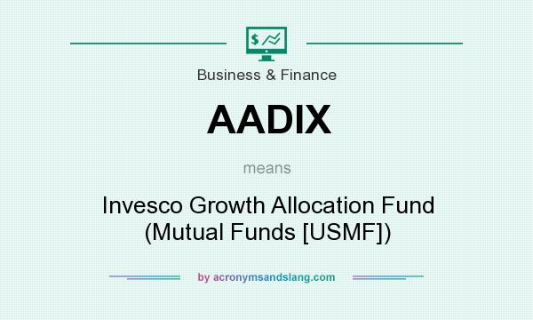 What does AADIX mean? It stands for Invesco Growth Allocation Fund (Mutual Funds [USMF])