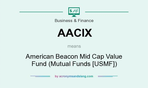 What does AACIX mean? It stands for American Beacon Mid Cap Value Fund (Mutual Funds [USMF])