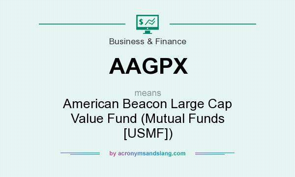 What does AAGPX mean? It stands for American Beacon Large Cap Value Fund (Mutual Funds [USMF])