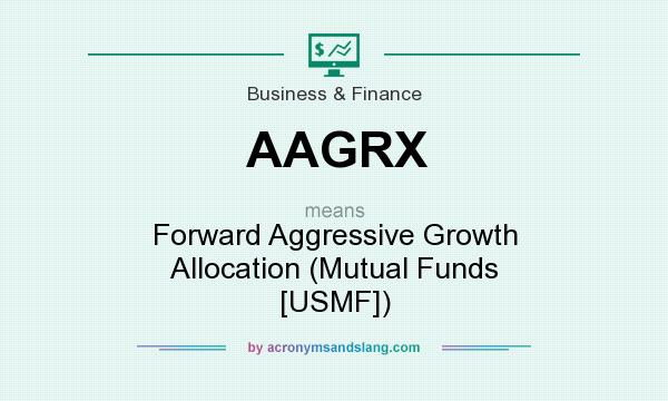 What does AAGRX mean? It stands for Forward Aggressive Growth Allocation (Mutual Funds [USMF])