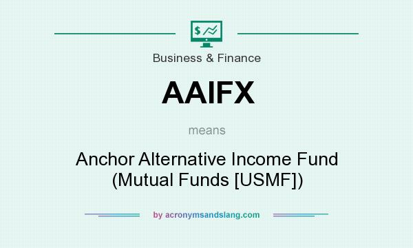 What does AAIFX mean? It stands for Anchor Alternative Income Fund (Mutual Funds [USMF])