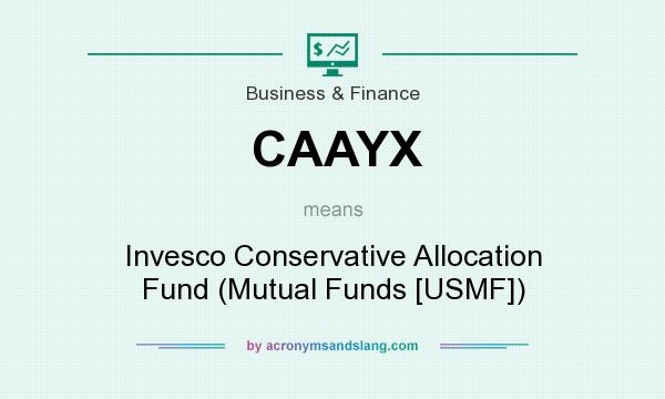 What does CAAYX mean? It stands for Invesco Conservative Allocation Fund (Mutual Funds [USMF])