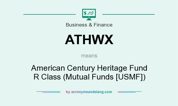 What does ATHWX mean? It stands for American Century Heritage Fund R Class (Mutual Funds [USMF])