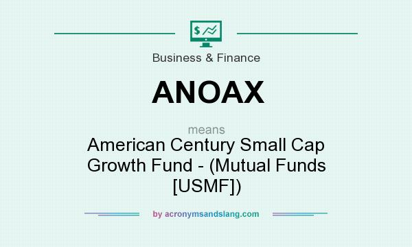 What does ANOAX mean? It stands for American Century Small Cap Growth Fund - (Mutual Funds [USMF])