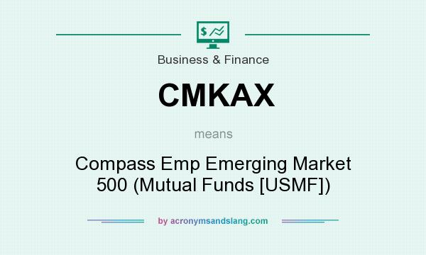 What does CMKAX mean? It stands for Compass Emp Emerging Market 500 (Mutual Funds [USMF])