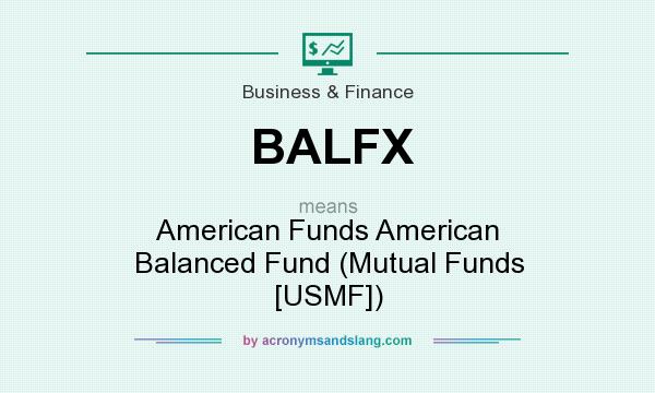 What does BALFX mean? It stands for American Funds American Balanced Fund (Mutual Funds [USMF])