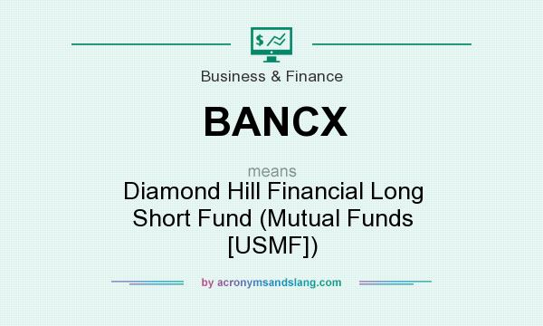 What does BANCX mean? It stands for Diamond Hill Financial Long Short Fund (Mutual Funds [USMF])