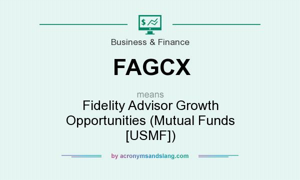 What does FAGCX mean? It stands for Fidelity Advisor Growth Opportunities (Mutual Funds [USMF])