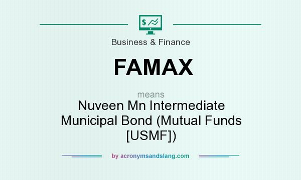 What does FAMAX mean? It stands for Nuveen Mn Intermediate Municipal Bond (Mutual Funds [USMF])