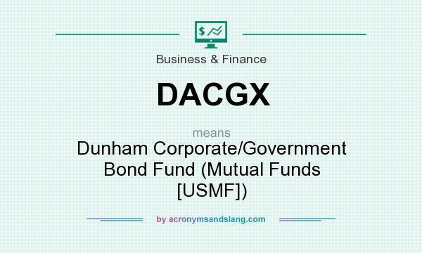 What does DACGX mean? It stands for Dunham Corporate/Government Bond Fund (Mutual Funds [USMF])