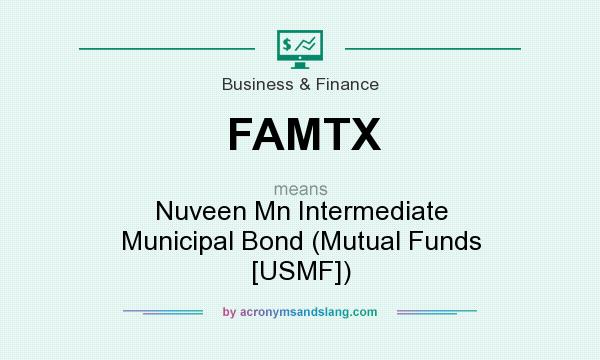 What does FAMTX mean? It stands for Nuveen Mn Intermediate Municipal Bond (Mutual Funds [USMF])