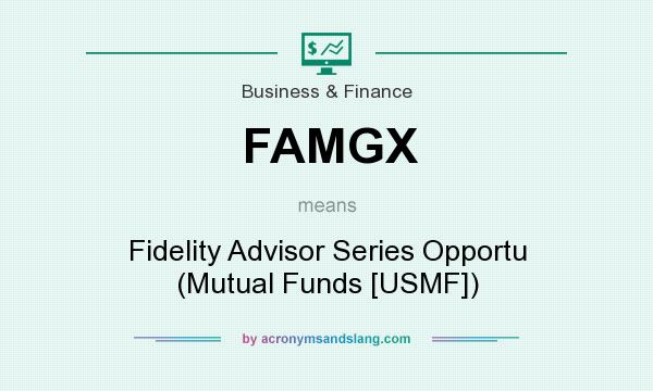 What does FAMGX mean? It stands for Fidelity Advisor Series Opportu (Mutual Funds [USMF])