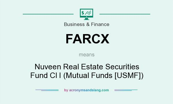 What does FARCX mean? It stands for Nuveen Real Estate Securities Fund Cl I (Mutual Funds [USMF])