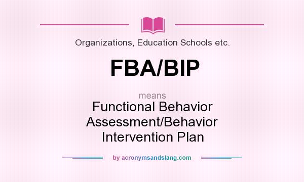 What Does FbaBip Mean  Definition Of FbaBip  FbaBip Stands For